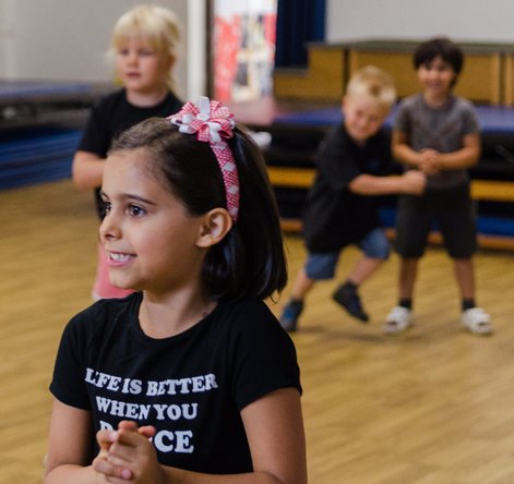 We aim to promote enjoyment and a love of dance for both boys and girls  from the age of 18 months all the way up to adults